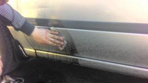 Профессиональная чистка кузова авто в Сургуте и районе от следов битума и насекомых