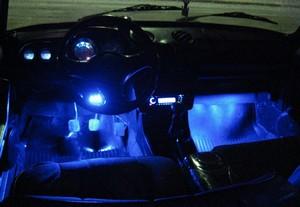 светодиодная подсветка салона авто